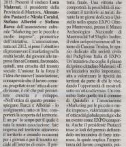Voce di Mantova del 9 marzo 2015