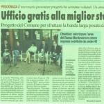 Articolo della Voce di Mantova del 31 maggio 2015 dedicato alla presentazione del Premio Marketing 2016