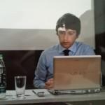 Stefano Barca presso i Salotti di Comunicazione a Mantova nel 2009