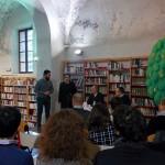 Il vicesindaco Roberto Gozzi, Stefano Barca, Gianluca Lisi e Stefano Alberini durante la presentazione
