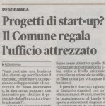Articolo della Gazzetta di Mantova del 5 febbraio 2016 dedicato al Premio Marketing 2016