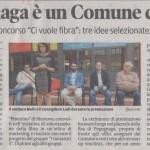 Articolo della Gazzetta di Mantova del 17 giugno 2016 dedicato alla premiazione del Premio Marketing 2016