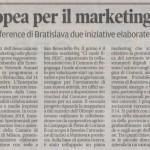 Articolo della Gazzetta di Mantova del 1 novembre 2016 dedicato alla Associazione Culturale Marketing nelle PMI